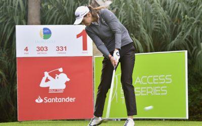 Poderío francés en el inicio del Santander Golf Tour en Málaga