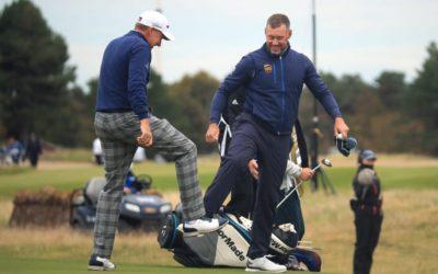 Lee Westwood comienza sin errores y con dos eagles para liderar en Escocia