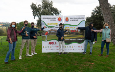 La Copa Comunicación y Empresas reivindica el golf como reactivador de la salud, el deporte y la economía