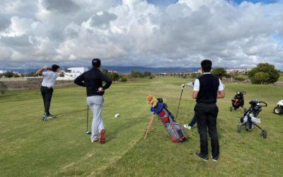 Festival de birdies en el 'Campeonato Ciudad de Almería' de Alborán Golf