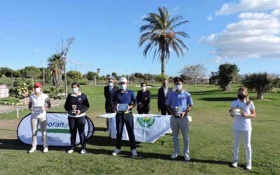 Jorge Siyuan y Paula Balanzategui se llevan el triunfo en el 'Campeonato Ciudad de Almería' de Alborán Golf