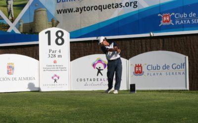Miguel Ángel Martín, contundente primer líder del Costa de Almería Campeonato de España de Profesionales Senior
