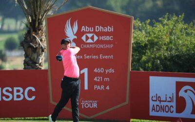 Un McIlroy impecable se pone líder en Abu Dhabi con Hatton a un golpe