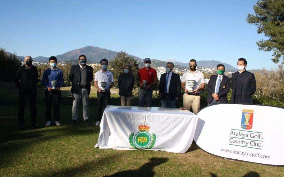 Gonzalo Leal se impone en la Copa Andalucía Masculina en Atalaya Golf & Country Club