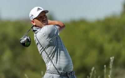 Sergio García concluye al par su primera ronda en el Sony Open de Hawái