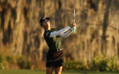 Lydia Ko muestra su buen conocimiento del campo para liderar el Gainbridge LPGA