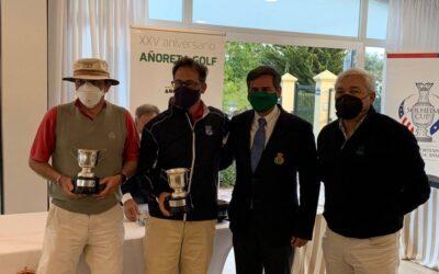 Carlos Ortega y Luis López ganan el Campeonato Internacional de Dobles de Andalucía Senior