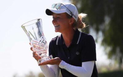 Sophie Hausmann gana el IOA Championship y suma su primer título en el Symetra Tour