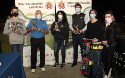 La XIII Copa Comunicación y Empresas arranca apostando por la digitalización con el Gourmet Golf Experience