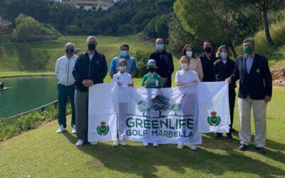 José López, ganador del Puntuable de Pitch & Putt en Greenlife Golf