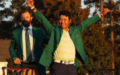 Gran gloria para Japón cuando Matsuyama gana Masters
