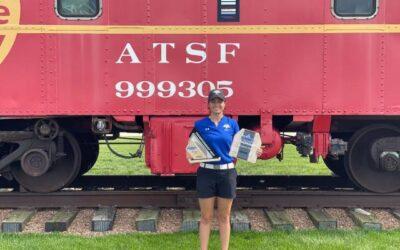 Cuarto triunfo de la temporada de Teresa Toscano en la Liga Universitaria norteamericana