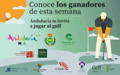 'Andalucía te invita a jugar al golf' reparte las 12 últimas escapadas