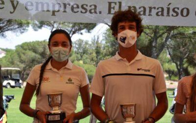 Ana Sarrias y Juan Fernández de Mesa conquistan el Campeonato de Huelva