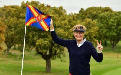 Victoria de Sylvie van Molle en el Gran Premio Senior Femenino