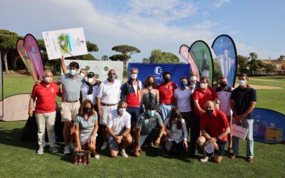 """El equipo ADACCA """"Los Gallos"""" vence en el torneo solidario Equality Golf Cup"""