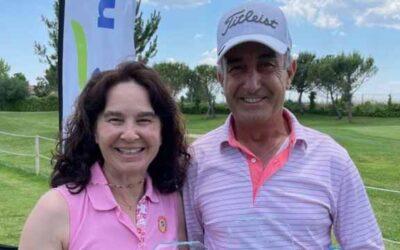 Isabel Alonso y Javier Niederleytner campeones senior de Pitch & Putt