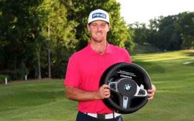 Triplete de Mito Pereira que gana el BMW Charity Pro-Am y jugará en el PGA Tour