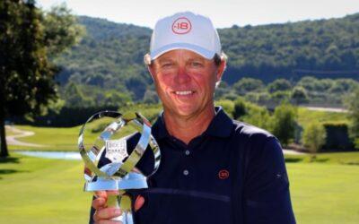 Cameron Beckman se estrena en el PGA Tour Champions ganando el Dick's Sporting Goods Open