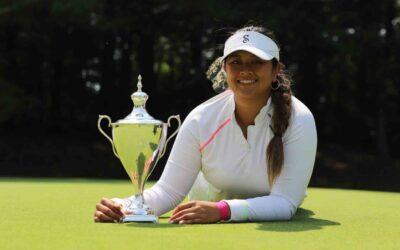 Lilia Vu gana el Twin Bridges Championship, su segundo título en el Symetra Tour
