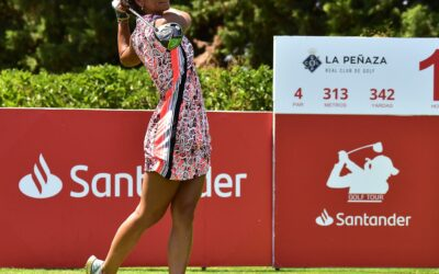 La gaditana Piti Martínez Bernal, a un golpe del liderato en el Santander Golf Tour LETAS Zaragoza