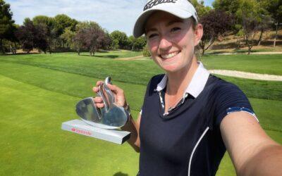 La inglesa Rachael Goodall, campeona en La Peñaza tras un épico desenlace