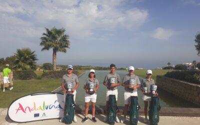 El Club de Golf La Cañada triunfa en el Campeonato de Andalucía Interclubs Infantil de Alcaidesa