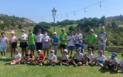 Fiesta y birdies en las prueba del Pequecircuito en Alhaurín Golf Hotel and Resort y Sherry Golf