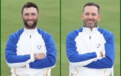 ¿Qué significan los números en las bolsas de golf del equipo de Europa en la Ryder Cup?