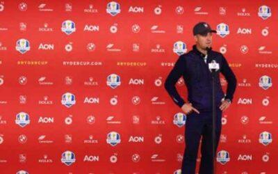 Justin Thomas: 'Es una ventaja jugar ante nuestro público'