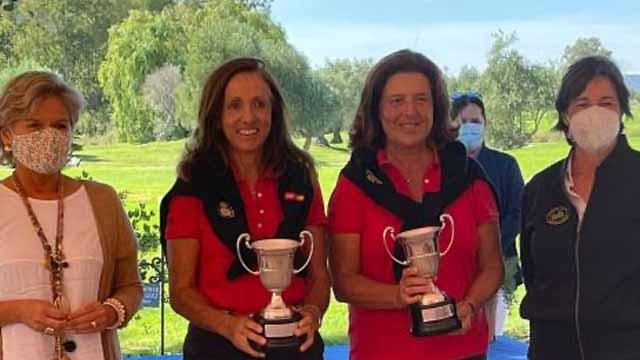 Triunfo de María de Orueta y Rocío Ruiz de Velasco en el Campeonato de España Dobles Senior