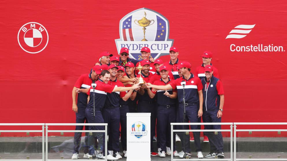Estados Unidos gana la 43a Ryder Cup