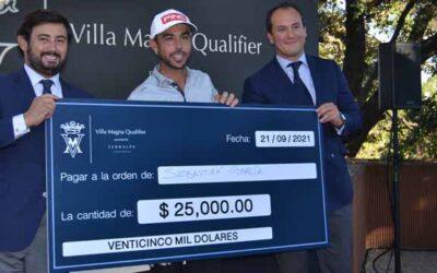 Sebas García Rodríguez se impone en el Villa Magna Qualifier to Mayakoba