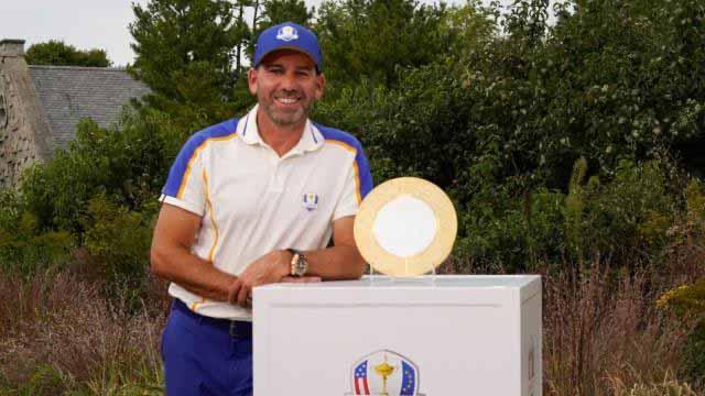 Sergio García reconocido con el trofeo Nicklaus – Jacklin