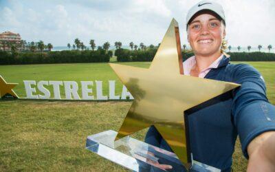 Maja Stark sella en Sitges su segunda victoria en el Ladies European Tour