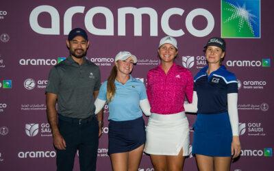 El equipo de Linnea Strom lidera el Aramco Team Series de Nueva York